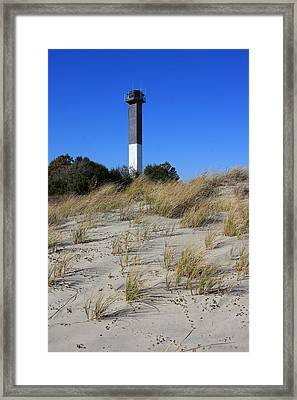 Sullivan's Island Lighthouse Framed Print