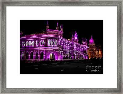 Sultan Abdul Samad Building Framed Print by Adrian Evans