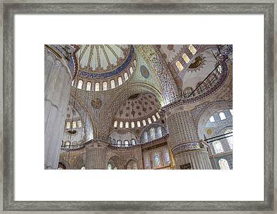 Sultanahmet Mosque Framed Print by Brandon Bourdages