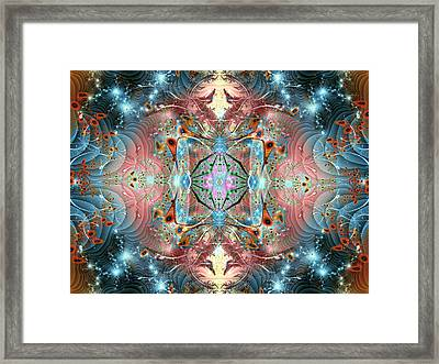 Sultans Magic Carpet Framed Print by Mary Almond