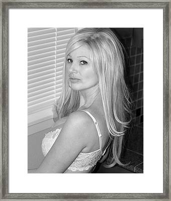 Framed Print featuring the photograph Sultry  by Matthew Ahola
