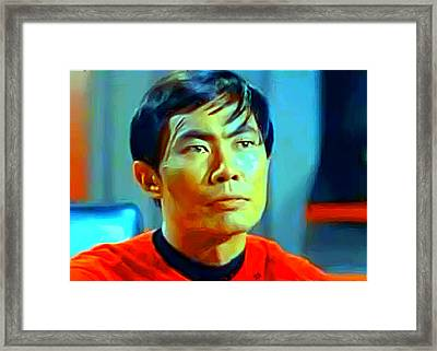 Sulu Framed Print