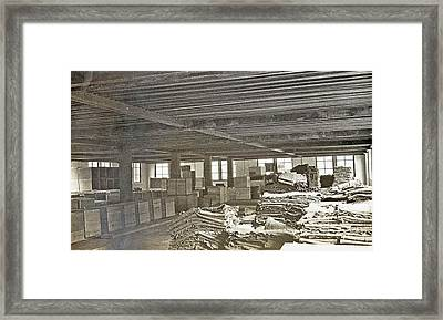 Sumatra Indonesia, Assorted Rubber Barn, Anonymous Framed Print