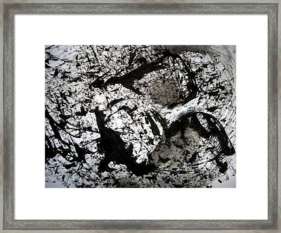 Sumi-e 130422-1 Framed Print by Aquira Kusume