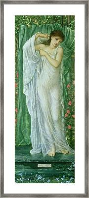 Summer Framed Print by Sir Edward Coley Burne-Jones