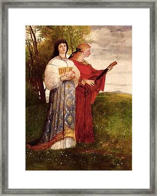 Summer, 1873 Framed Print