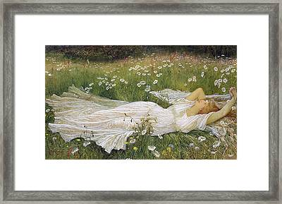 Summer, 1895 Framed Print
