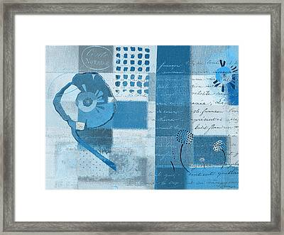 Summer 2014 - J088097112-blueall Framed Print by Variance Collections