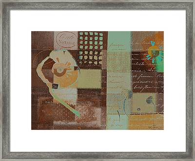 Summer 2014 - J088097112-brown01 Framed Print by Variance Collections