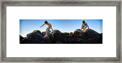 Framed Print featuring the photograph Summer Adventure by John Hansen