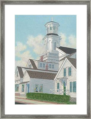 Summer Afternoon  Framed Print by David Hinchen