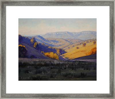 Summer Afternoon Framed Print by Graham Gercken