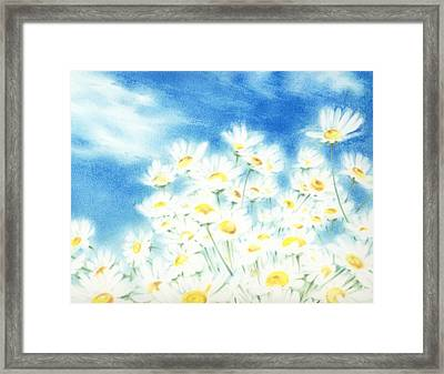 Framed Print featuring the painting Summer Afternoon  by Natasha Denger