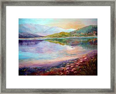 Summer Afternoon Framed Print by Sher Nasser
