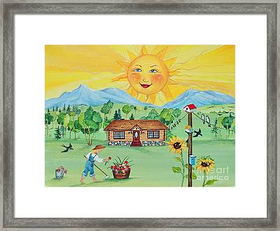 Summer Afternoon Framed Print by Virginia Ann Hemingson