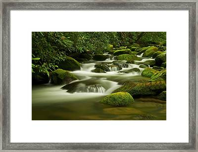 Summer Along The Roaring Fork Framed Print by Keith Nicodemus