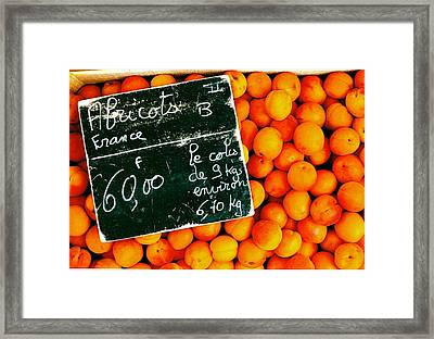 Summer Apricots Framed Print by Christian Capucci