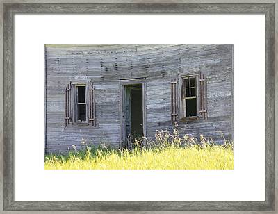 Summer At Captain Ed's Homestead Framed Print by Penny Meyers