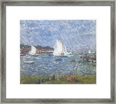 Summer At Cowes Framed Print by Philip Wilson Steer