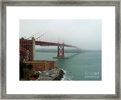 Summer At The Point Framed Print by Methune Hively