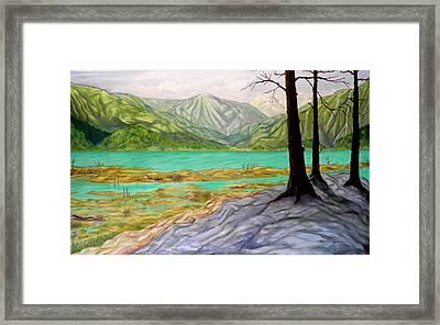 Summer At The Estuary Framed Print