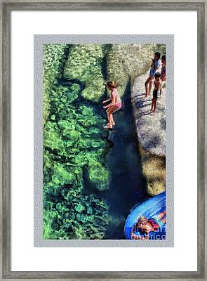 Summer At Yosemite Framed Print by Jeff Breiman
