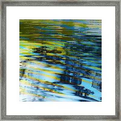 Framed Print featuring the digital art Summer  by Aurora Levins Morales