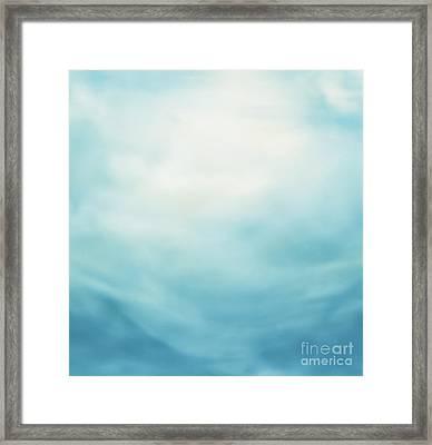 Summer Background Framed Print by Mythja  Photography