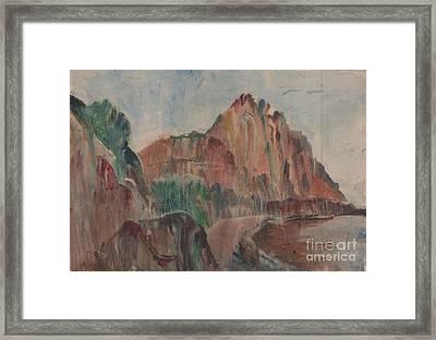 Summer Bay  Framed Print by Anna Lobovikov-Katz