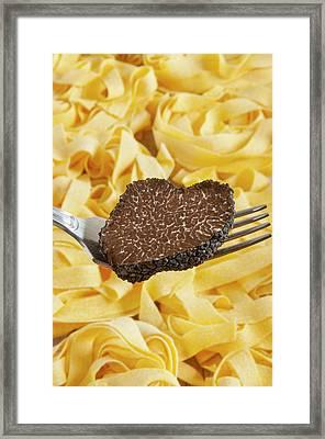 Summer Black Truffle (tuber Aestivum Framed Print