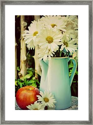 Summer Blend Framed Print by Kelly Nowak