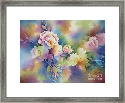 Summer Blooms Framed Print by Deborah Ronglien