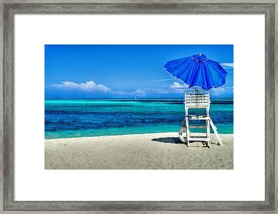 Summer Blues Framed Print by Paul Wear