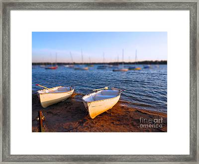 Summer Boats Framed Print