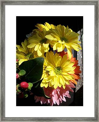 'summer Bouquet In Sunlight'  Framed Print