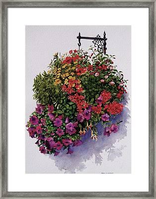 Summer Bouquet Framed Print by Karol Wyckoff