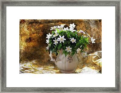 Spring Bouquet Framed Print by Randi Grace Nilsberg
