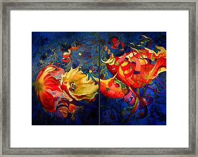 Framed Print featuring the painting Summer Breeze by Georg Douglas