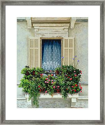 Summer Breeze Framed Print by Michael Swanson