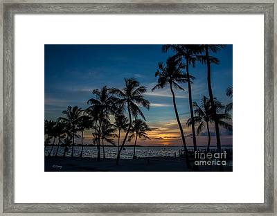 Summer Breeze Framed Print by Rene Triay Photography