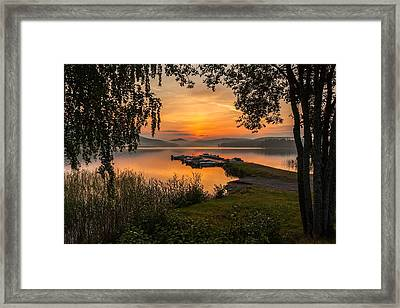Summer Breeze Framed Print by Rose-Maries Pictures