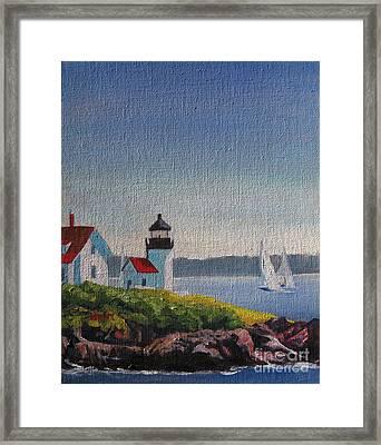 Summer Breeze Framed Print by Shirley Braithwaite Hunt