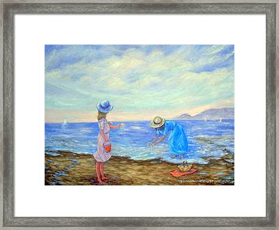 Summer By The Sea... Framed Print