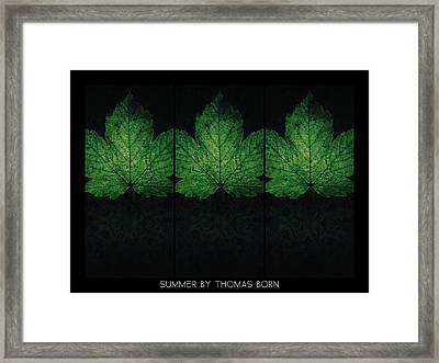Summer By Thomas Born Framed Print