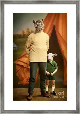 Summer Camp Framed Print by Martine Roch