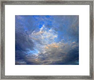 Summer Clouds Framed Print by Kay Gilley