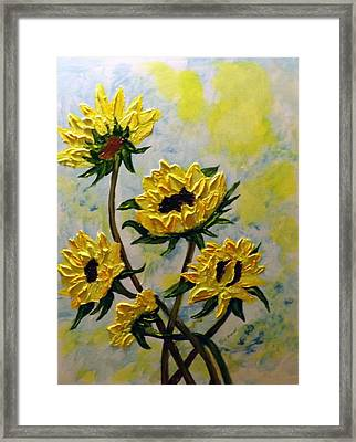 Summer Color Framed Print by Rich Mason
