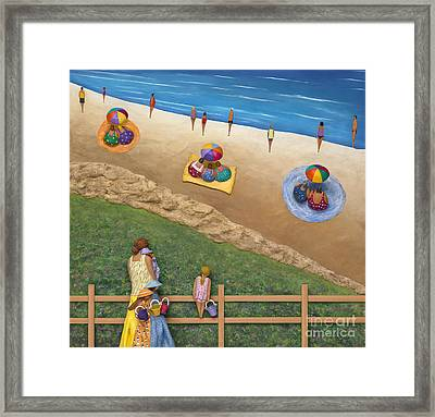 Framed Print featuring the sculpture Summer Colours by Anne Klar
