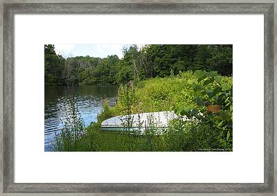Framed Print featuring the photograph Summer Day  by Deborah Fay