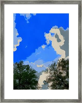 Summer Day From The Hammock Framed Print by Dan Sproul